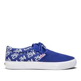 Supra Mens CUBA Pantone 294 Low Top Shoes | CA-75541